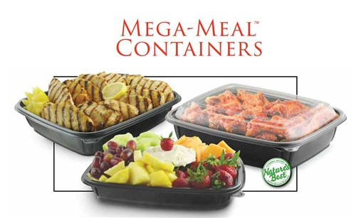 Mega-Meal Containers