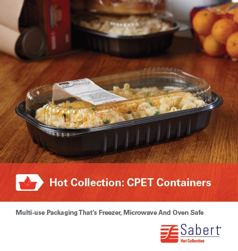 Sabert® CPET Containers