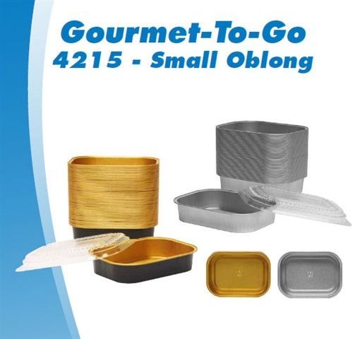 Gourmet-To-Go® Small Oblong