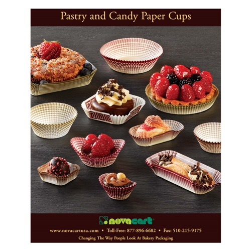 Novacart Pastry and Candy Paper Cups