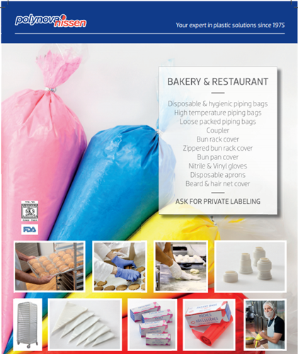 Polynova Bakery Collection of Products