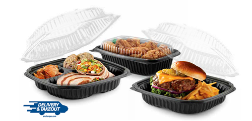 Anchor Packaging's Culinary Lites Hinged Containers