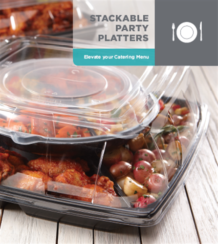 Stackable Party Platters by Sabert