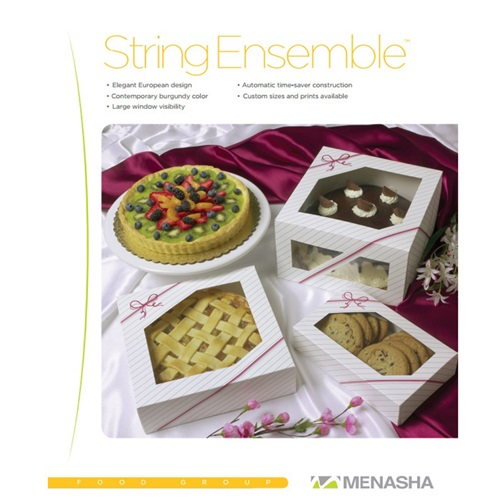 Menasha String Ensemble Cake Boxes