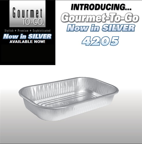 Gourmet-To-Go® in Silver 4205