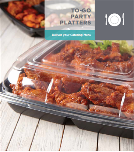 To-Go Party Platters by Sabert