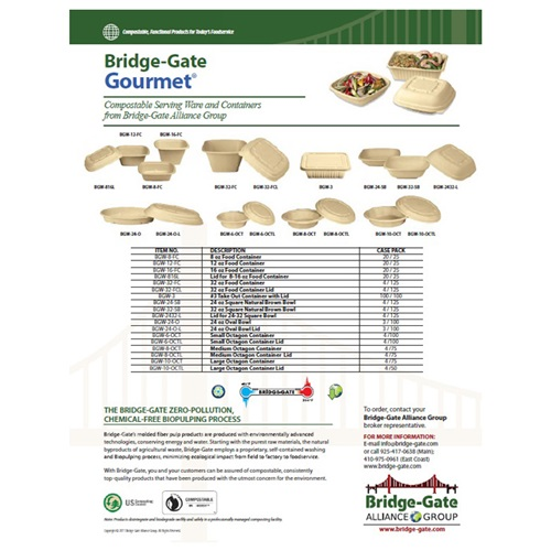 Bridge-Gate Gourmet Catalog