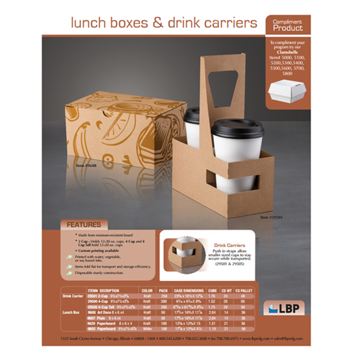 LBP Lunch Boxes & Drink Carriers