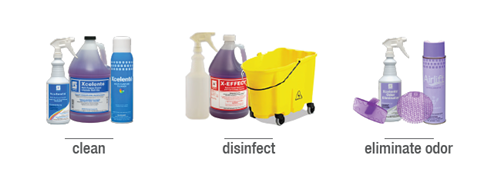 Xcelente Multi Surface Cleaners, Disinfectants and Odor Eliminators
