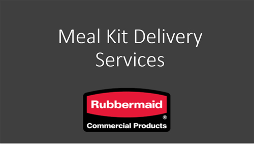 Rubbermaid Meal Kit Delivery Services