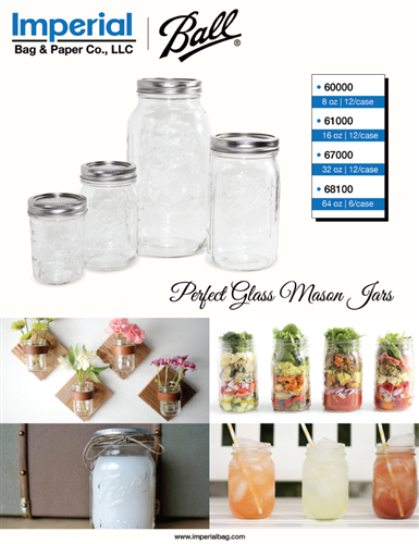 Ball Perfect Glass Mason Jars
