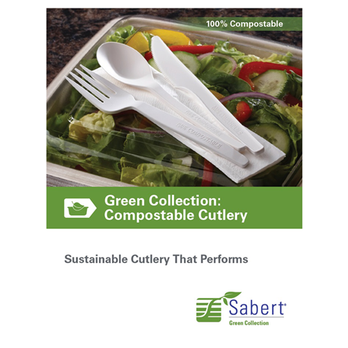 Sabert Green Collection Compostable Cutlery
