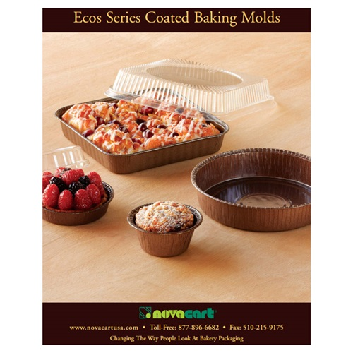 Novacart Ecos Series Coated Baking Molds