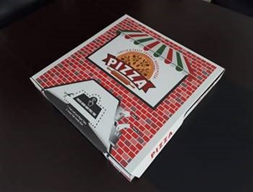 Tamper Evident Pizza Box