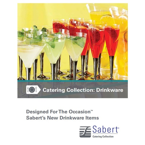 Sabert Catering Collection: Drinkware