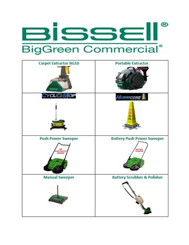 Bissell Commercial