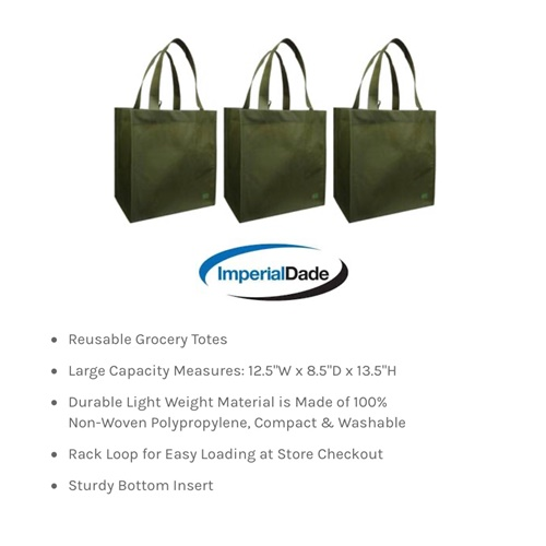 Resuable Grocery Totes