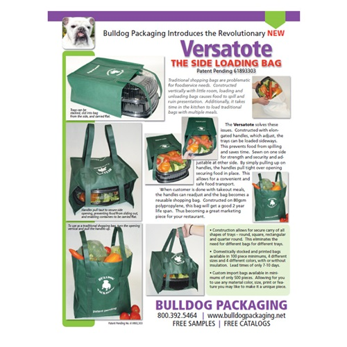 Versatote – The Side Loading Bag