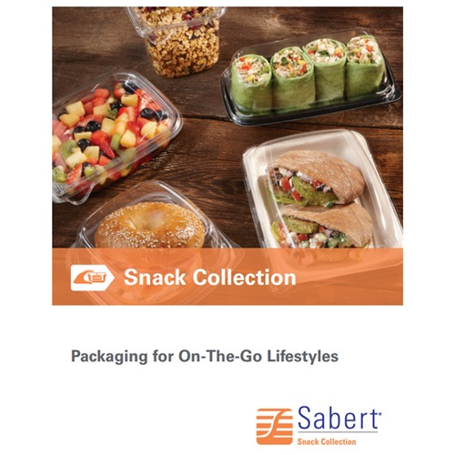 Sabert Snack Collection On-The-Go Packaging