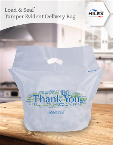 Load & Seal Tamper Evident Delivery Bags